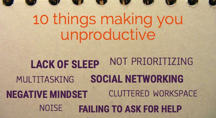 10 Things That Make You Unproductive-asap-staffing-miami