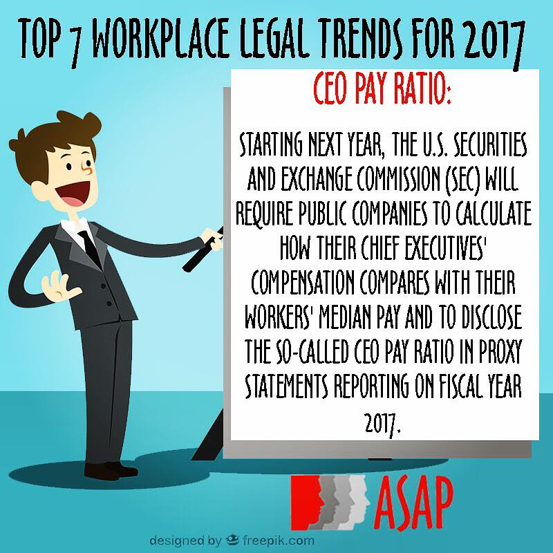 Legal trends for 2017